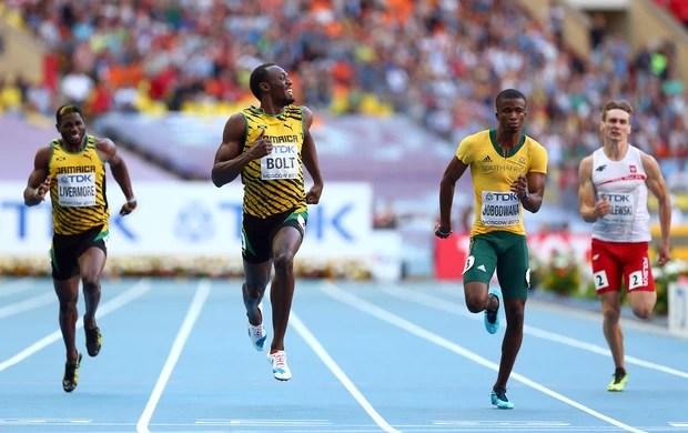 Mundial de Atletismo Usain Bolt semi final 200m (Foto: Getty Images)