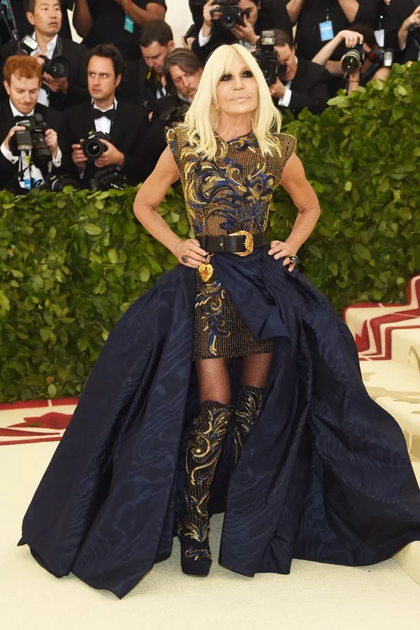 Donatella Versace (Foto: Getty Images)