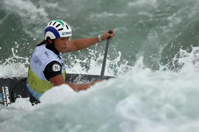Ana Sátila, da canoagem slalom — Foto:  Buda Mendes/Getty Images