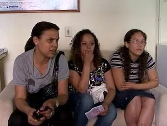 Estudantes tiveram problemas com o Enem em Rio Grande, RS (Foto: Reprodução/RBS TV)