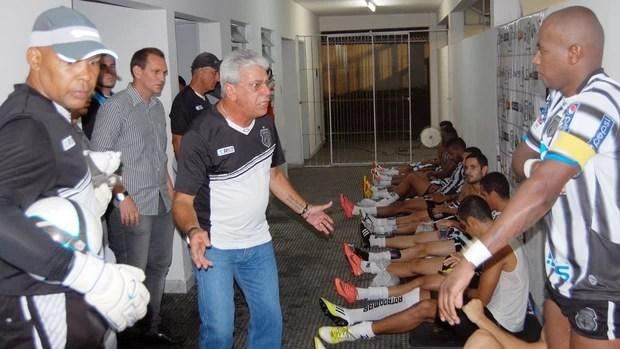 Sérgio Cosme, treinador Treze (Foto: Richardson Gray/Globoesporte.com/pb)