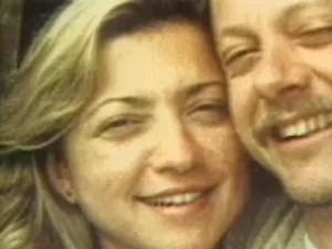Igor com sua esposa (Foto: Reprodução/TV Globo)