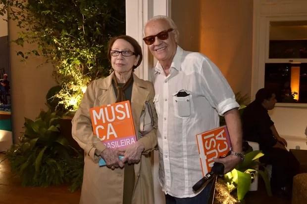 Fernanda Montenegro e Ney Latorraca (Foto: Roberto Teixeira / EGO)