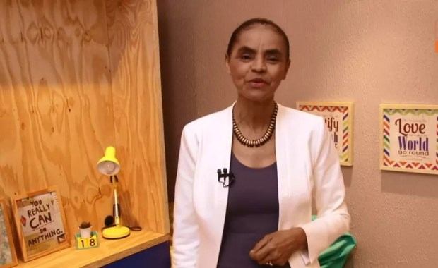 Marina Silva faz transmissão ao vivo no Facebook (Foto: Reprodução, Facebook)