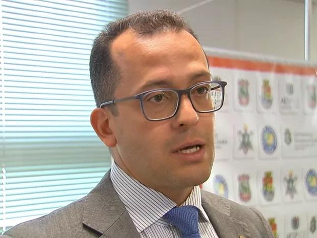 Secretário da SSPDS André Costa (Foto: TV Verdes Mares)
