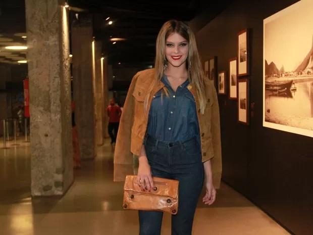 Isabella Sartoni em pré-estreia de filme no Rio (Foto: Graça Paes/ Brazil News)