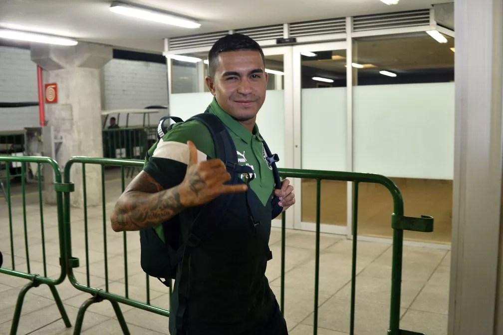 Dudu está emprestado pelo Palmeiras para o Al Duhail, do Catar — Foto: Marcos Ribolli