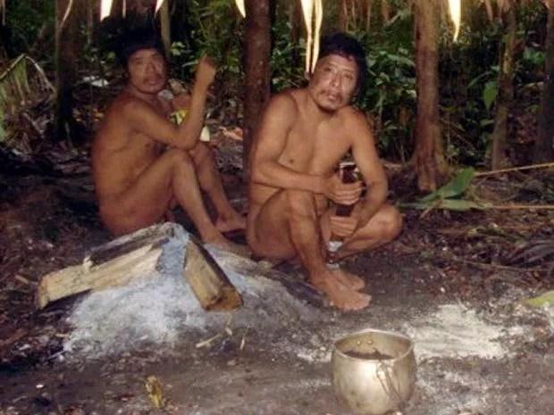Índios Tyku e Mondé-i vivem isolados em terra indígena em Mato Grosso (Foto: Funai)