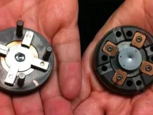 Cápsula de diamante foi aquecida até a temperatura da crosta terrestre (Foto: BBC)