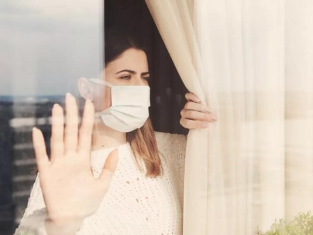 O estresse do isolamento traz diversos efeitos para o corpo e a mente.  — Foto:  iStock