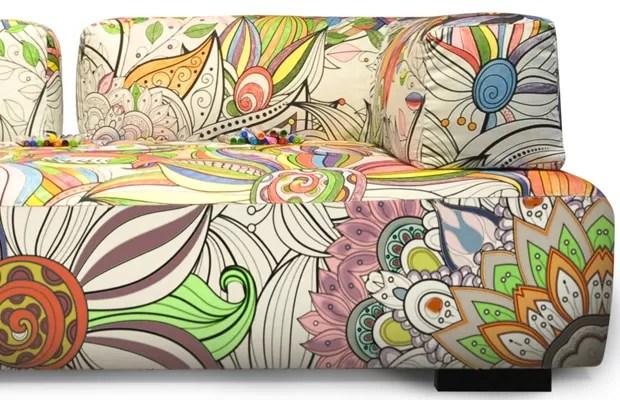 Resultado de imagem para sofá para colorir  bell'arte