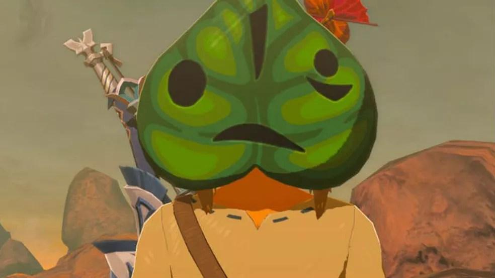 The Legend of Zelda Breath of the Wild: a máscara de Korok ajuda a encontrar seeds (Foto: Reprodução / Thomas Schulze)