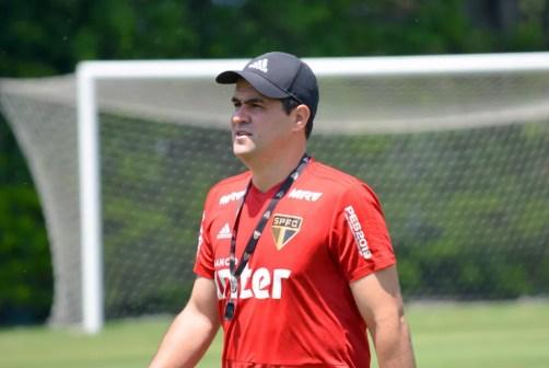 André Jardine vai comandar treino do São Paulo nesta segunda-feira — Foto: Érico Leonan/saopaulofc.net