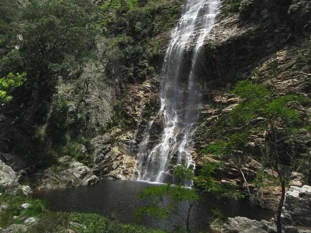 Cachoeira do Taboão (Foto: Valdeir Rabelo/Divulgação)