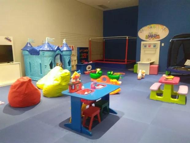 Clubinho do Mar é mais uma opção de diversão que o Shopping Parangaba oferece para as crianças (Foto: Shopping Parangaba/Divulgação)