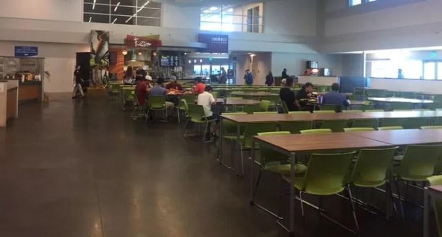 Refeitório IMG Academy (Foto: Divulgação)
