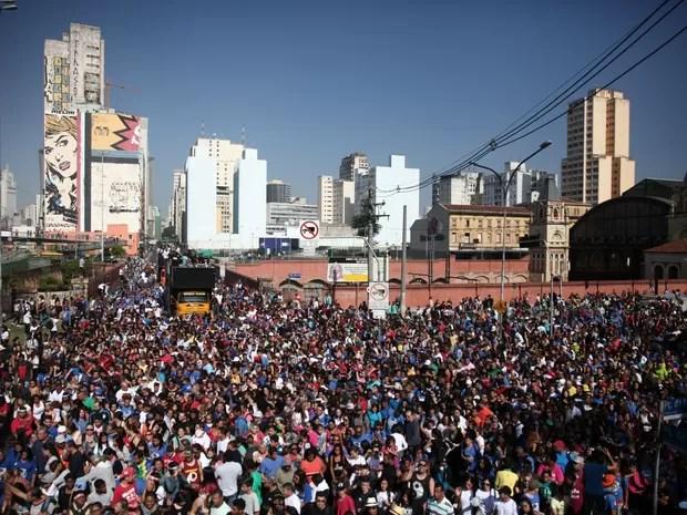Marcha para Jesus (Foto: Marcelo Brandt/G1)