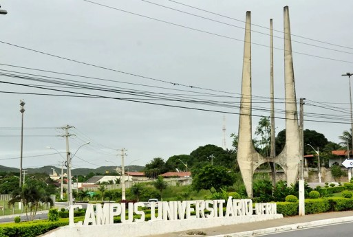 Campus Central da UFRN, em Natal — Foto: UFRN/Divulgação