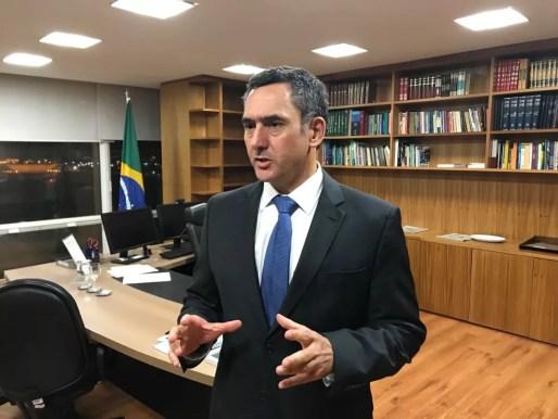 O ministro da Fazenda, Eduardo Guardia (Foto: Alexandro Martello/G1)