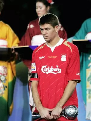 Gerrard Liverpool Mundial 2005 (Foto: Getty Images)