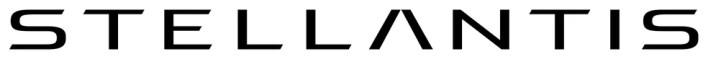 Logo da Stellantis, nome da empresa fruto da fusão da PSA com a FCA — Foto: Divulgação
