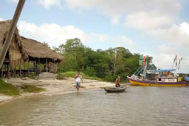 Principal atividade econômica de Viseu é a pesca. Na Vila de Pescadores de Apeú estão os peixes e frutos do mar mais frescos da região.  (Foto: Fabio Soares/ Divulgação Prefeitura de Viseu)
