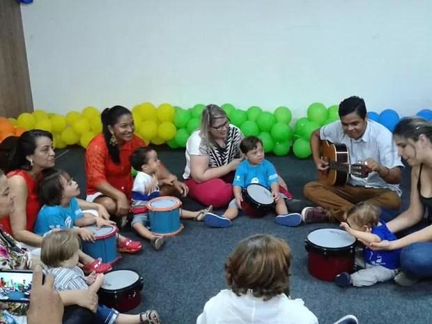 Escola Especial de Música Juarez Johnson funciona no Espaço Cultural José Lins do Rego (Foto: Divulgação/EEMJJ)