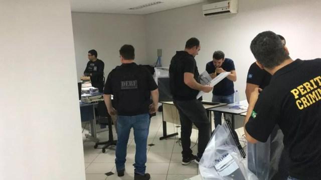 Operação 'Luz na infância' em Sinop (MT) — Foto: Polícia Civil de MT/Divulgação