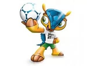 Mascote tatu bola copa do mundo brasil 2014 (Foto: Divulgação)