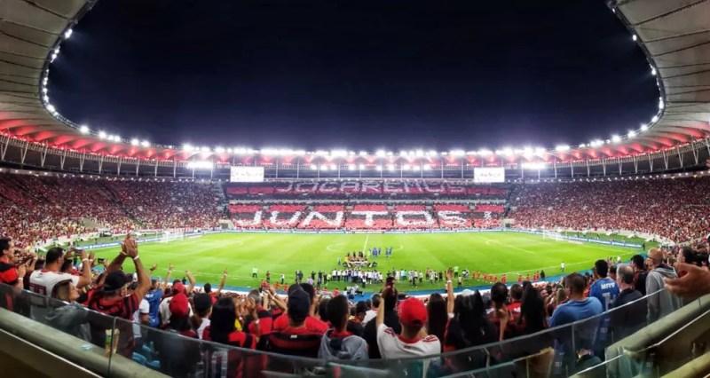 Torcida rubro-negra lotará novamente o Maracanã para confronto com o Santos — Foto: Divulgação / Flamengo