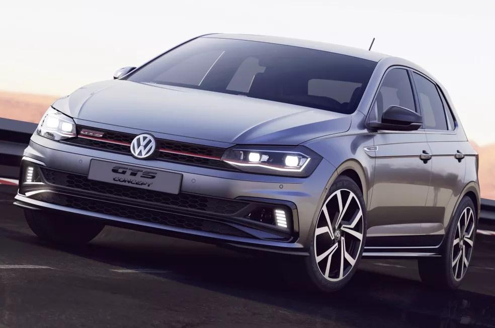Volkswagen Polo GTS — Foto: Divulgação/Volkswagen