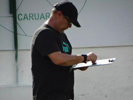 Pedro Manta lamentou sono contra o América-RN (Foto: Vital Florêncio / GloboEsporte.com)