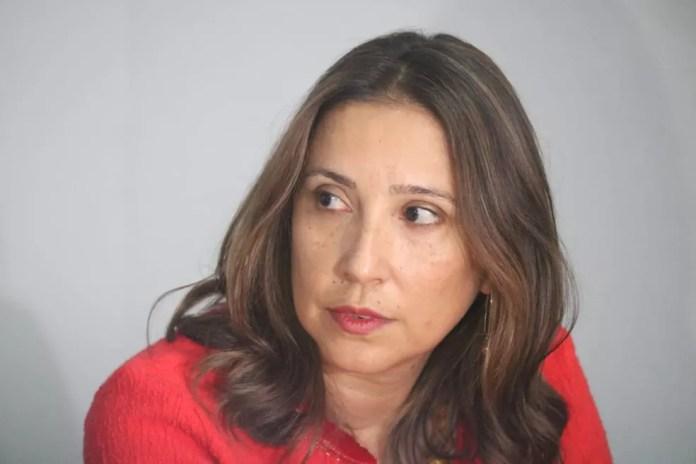 Superintendente da CGU, Érica Lobo, disse que houve subcontratação. (Foto: Andrê Nascimento/G1)