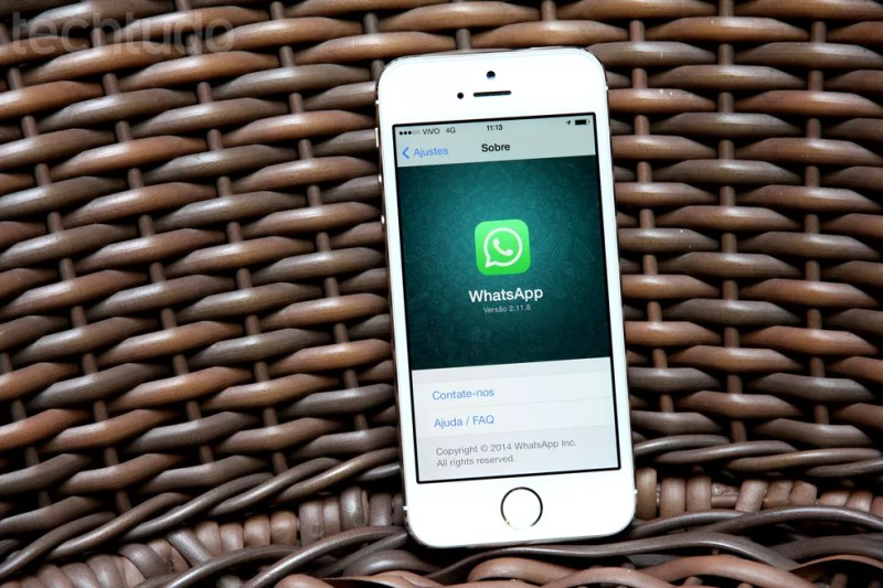 WhatsApp é vítima de ataques sucessivos (Foto: Luciana Maline/TechTudo)