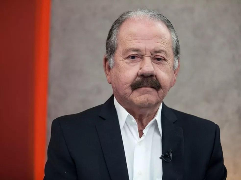 Giglio durante debate no estúdio do G1 em São Paulo (Foto: Marcelo Brandt/G1)