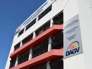 Sede do Departamento de Atendimento a Grupos Vulneráveis em Aracaju (SE) (Foto: Marina Fontenele/G1 SE)