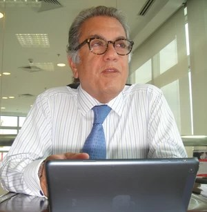 Carlos Miguel Aidar, candidato à presidência do São Paulo (Foto: Alexandre Lozetti)