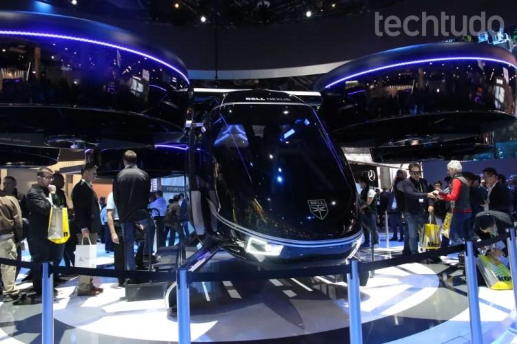 Bell Nexus: carro voador deve funcionar com UberAIR — Foto: Luciana Maline/TechTudo