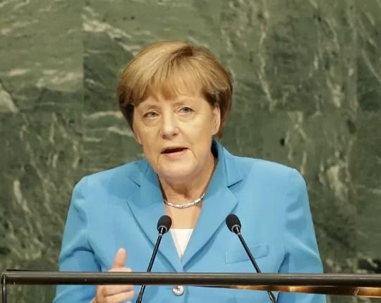 Angela Merkel é forte candidata ao Prêmio Nobel (Foto: Seth Wenig/AP)