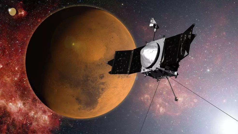 NASA detectou metal na atmosfera de Marte (Foto: NASA)