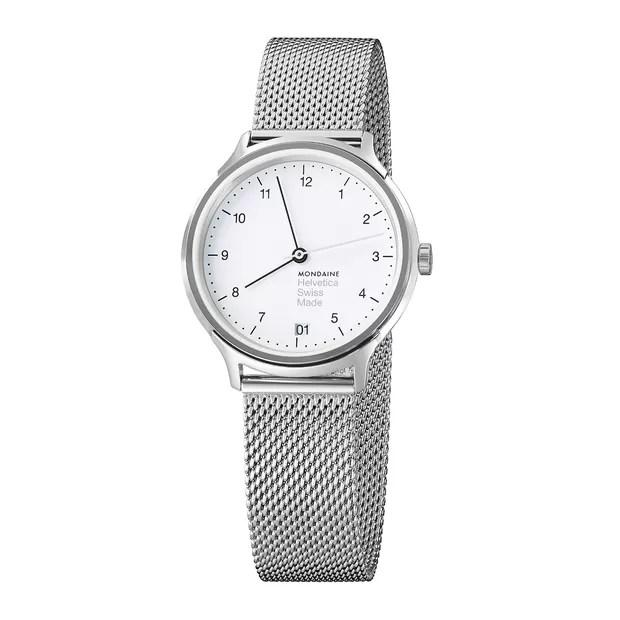 Mondaine lança linha de relógios inspirada em fonte