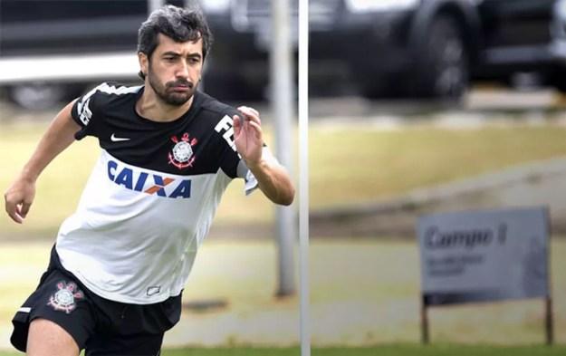 Douglas treino Corinthians — Foto: Daniel Augusto Jr. / Agência Corinthians