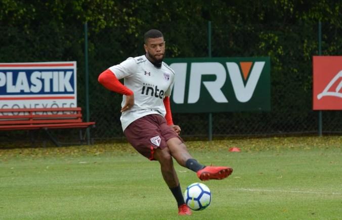Junior Tavares vai participar de jogo-treino no São Paulo — Foto: Érico Leonan / saopaulofc.net