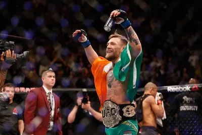 José Aldo Connor Mcgregor UFC 194 (Foto: Getty Images)