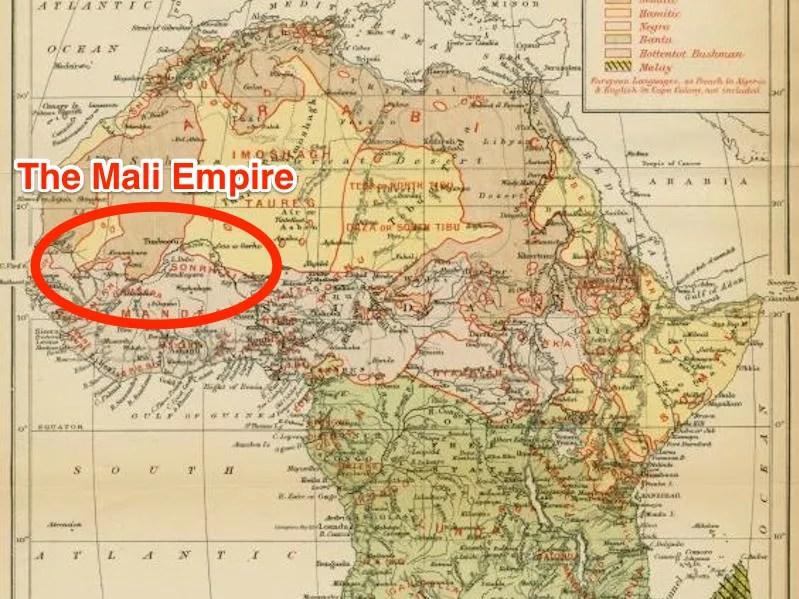 O Império Mali (Foto: Biblioteca Pública de Nova Iorque & Business Insider)