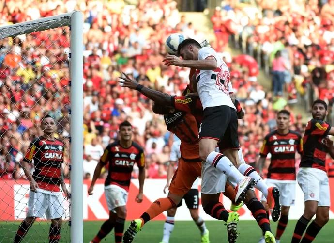 Flamengo x São Paulo (Foto: André Durão)
