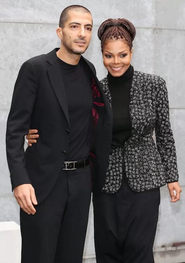 A cantora Janet Jackson e seu marido, o empresário Wissam Al Mana (Foto: Getty Images)