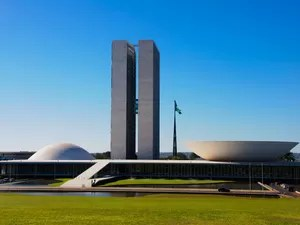 Congresso Nacional - Brasília (DF) #Obras_Niemeyer (Foto: Marcelo Brandt/G1)