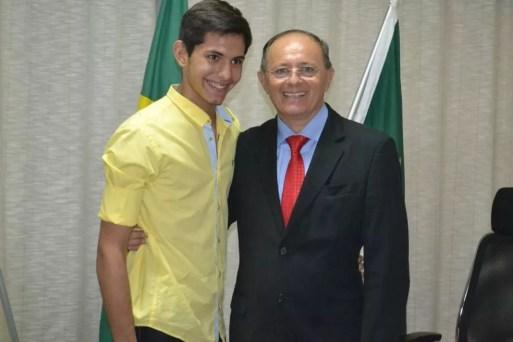 Benes Leocádio Júnior, filho de Benes Leocádio, foi morto a tiros em Natal — Foto: Reprodução/Facebook