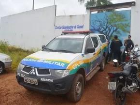 Centro Socioeducativo de Cacoal  (Foto: Rogério Aderbal/G1)
